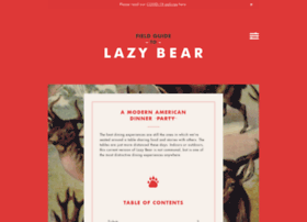 lazybearsf.com