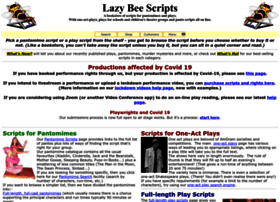 lazybeescripts.co.uk