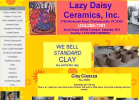 lazydaisyceramics.com