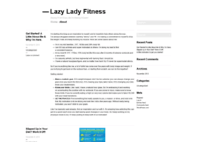 lazyladyfitness.wordpress.com