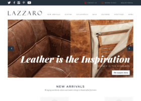 lazzaroleather.com