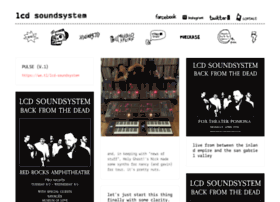 lcdsoundsystem.com