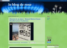 le-blog-de-rose.blogspot.com