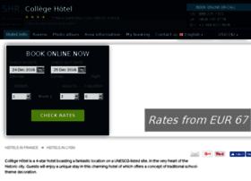le-college-lyon.hotel-rez.com
