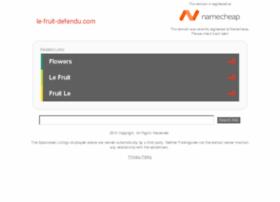 le-fruit-defendu.com