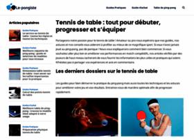 le-pongiste.com