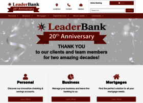 leaderbank.com