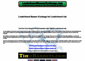 leaderboardbannerexchange.com