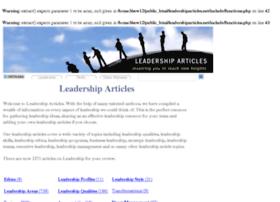 leadershiparticles.net
