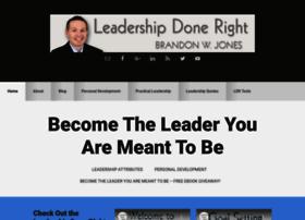 leadershipdoneright.com