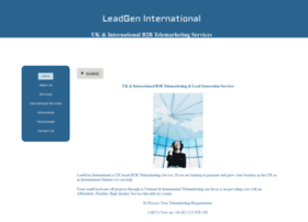 leadgeninternational.co.uk