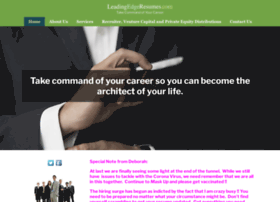 leadingedgeresumes.com