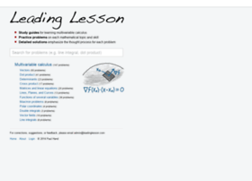 leadinglesson.com