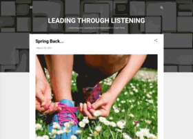 leadingthroughlistening.blogspot.com