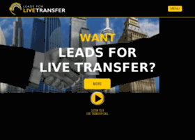 leadsforlivetransfer.com