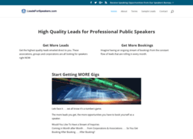leadsforspeakers.com