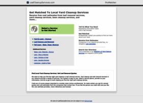 leafcleanupservices.com