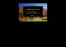 leafpeepers.com