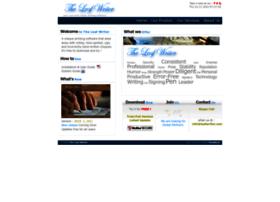 leafwriter.com