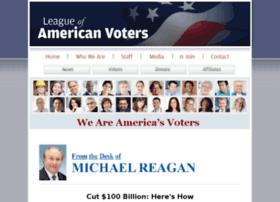 leagueofamericanvoters.com