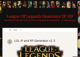 leagueoflegendsgenerator.wordpress.com