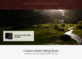 leahycustomhikingboots.com