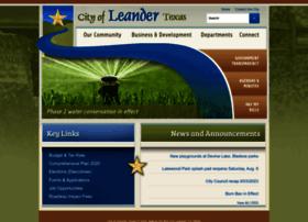 leandertx.gov