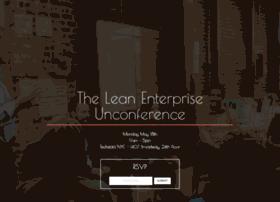 leanenterpriseunconference.splashthat.com