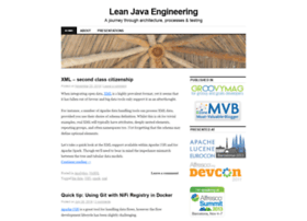 leanjavaengineering.wordpress.com