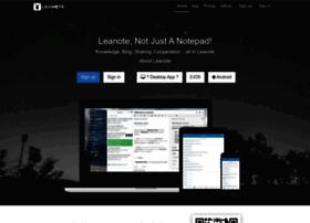 leanote.com