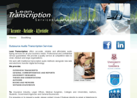 leantranscription.com