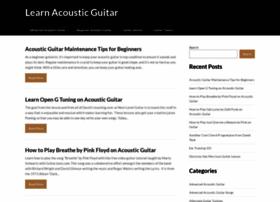 Learn-acoustic-guitar.com