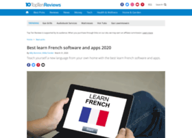 learn-french-software-review.toptenreviews.com