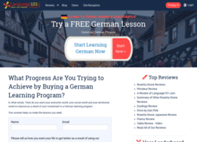 learn-german.language101.com
