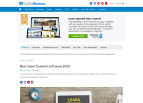 learn-spanish-software-review.toptenreviews.com