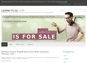 learn-to-dj.com
