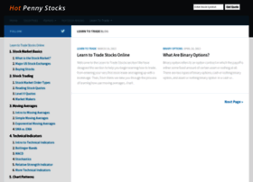 learn-to-trade.thehotpennystocks.com