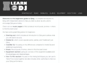 learn2dj.co.uk