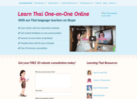 learn2speakthai.net