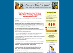 learnaboutparrots.com