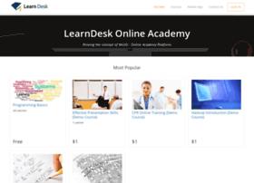 learndesk.wiziq.com