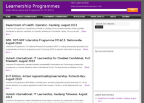 learnershipprogrammes.com