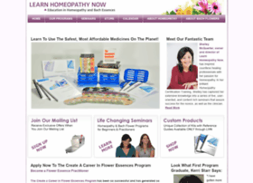 learnhomeopathynow.com
