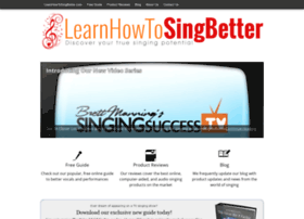 learnhowtosingbetter.com