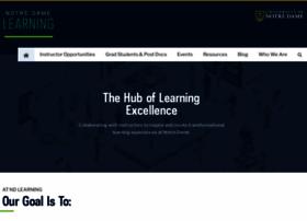 learning.nd.edu