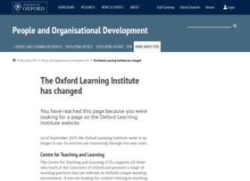learning.ox.ac.uk