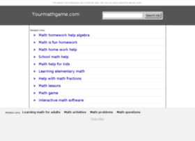 learning.yourmathgame.com