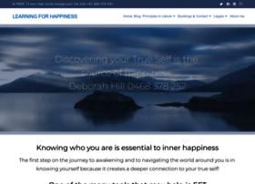 learningforhappiness.com