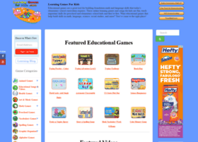 learninggamesforkids.com