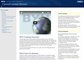 learningoutcomes.byu.edu